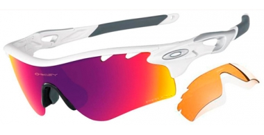 Gafas de Sol - Oakley - RADARLOCK PATH OO9181 - 9181-40 POLISHED WHITE // PRIZM ROAD + PERSIMMON VENTED