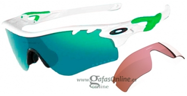 Gafas de Sol - Oakley - RADARLOCK PATH OO9181 - 9181-35 POLISHED WHITE //JADE IRIDIUM + G40 VENTED