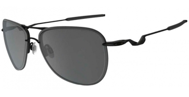 Sunglasses - Oakley - TAILPIN OO4086 - 4086-09 SATIN BLACK // GREY