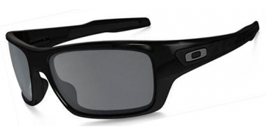 Gafas de Sol - Oakley - TURBINE OO9263 - 9263-03 POLISHED BLACK // BLACK IRIDIUM