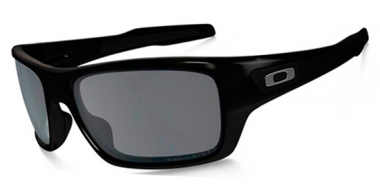 Gafas de Sol - Oakley - TURBINE OO9263 - 9263-08 POLISHED BLACK // BLACK IRIDIUM POLARIZED