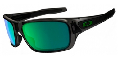Gafas de Sol - Oakley - TURBINE OO9263 - 9263-09 GREY SMOKE // JADE IRIDIUM POLARIZED