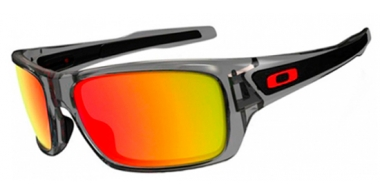 Gafas de Sol - Oakley - TURBINE OO9263 - 9263-10 GREY INK // RUBY IRIDIUM POLARIZED