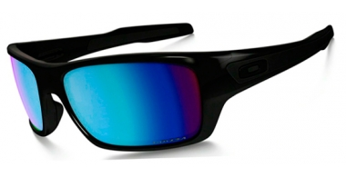Gafas de Sol - Oakley - TURBINE OO9263 - 9263-14 POLISHED BLACK // PRIZM DEEP H20 POLARIZED