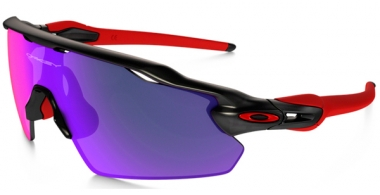Gafas de Sol - Oakley - OAKLEY RADAR EV PITCH - 9211-02 MATTE BLACK INK // POSITIVE RED IRIDIUM