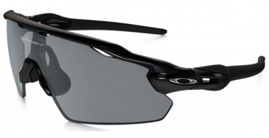 Gafas de Sol - Oakley - OAKLEY RADAR EV PITCH - 9211-07 POLISHED BLACK  // BLACK IRIDIUM POLARIZED