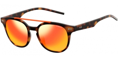 Sunglasses - Polaroid - PLD 1023/S - 202 (OZ) BROWN HAVANA // RED MIRROR POLARIZED