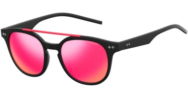 Sunglasses - Polaroid - PLD 1023/S - DL5 (AI) MATTE BLACK // GREY PINK MIRROR POLARIZED