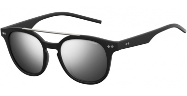 Sunglasses - Polaroid - PLD 1023/S - DL5 (JB) MATTE BLACK // GREY SILVER MIRROR POLARIZED