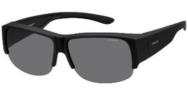 Sunglasses - Polaroid Ancillaries - PLD 9007/S - DL5 (Y2) MATTE BLACK // GREY POLARIZED