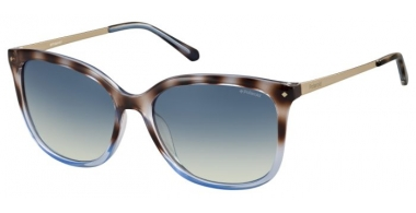 Gafas de Sol - Polaroid - PLD 4043/S - O70 (Z7) SHINY BLUE HAVANA GOLD // BLUE GRADIENT POLARIZED