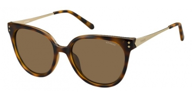 Sunglasses - Polaroid - PLD 4047/S - R8V (IG) HAVANA GOLD // BROWN POLARIZED