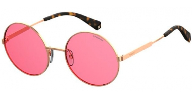 Sunglasses - Polaroid - PLD 4052/S - 35J (0F) GOLD // PINK POLARIZED