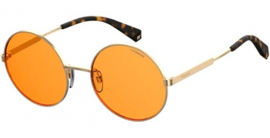 Sunglasses - Polaroid - PLD 4052/S - L7Q (HE) GOLD // ORANGE POLARIZED