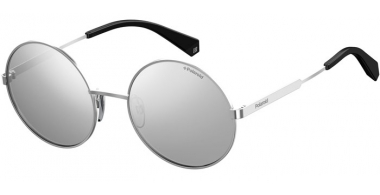 Sunglasses - Polaroid - PLD 4052/S - 010 (EX) PALLADIUM // GREY SILVER FLASH POLARIZED