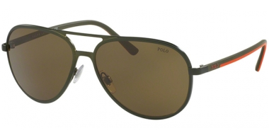 Sunglasses - POLO Ralph Lauren - PH3102 - 900573 SEMISHINY OLIVE // OLIVE