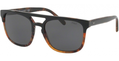 Sunglasses - POLO Ralph Lauren - PH4125 - 526087 TOP BLACK ON JERRY HAVANA // DARK GREY