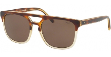 Sunglasses - POLO Ralph Lauren - PH4125 - 563773 LIGHT HAVANA ON PINOT GRIGIO // BROWN