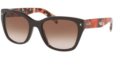 Sunglasses - Prada - SPR 09SS - DHO3D0 BROWN // BROWN GRADIENT