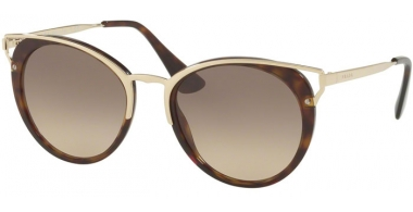 Sunglasses - Prada - SPR 66TS - 2AU3D0 HAVANA // BROWN GRADIENT