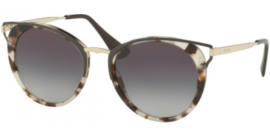 Sunglasses - Prada - SPR 66TS - UAO5D1 SPOTTED OPAL BROWN // GREY GRADIENT