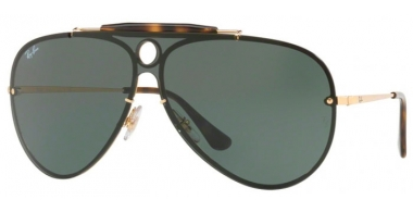 Gafas de Sol - Ray-Ban® - Ray-Ban® RB3581N BLAZE SHOOTER - 001/71 ARISTA // GREEN