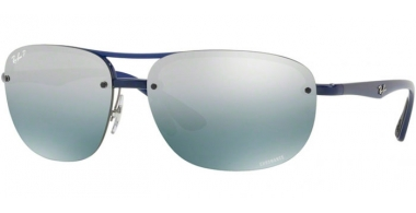 Gafas de Sol - Ray-Ban® - Ray-Ban® RB4275CH - 629/5L BLUE // BLUE MIRROR GREY GRADIENT POLARIZED