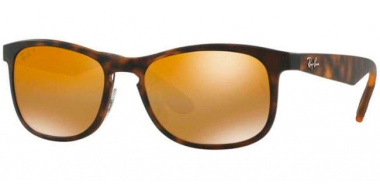 Sunglasses - Ray-Ban® - Ray-Ban® RB4263 - 894/A3 MATTE HAVANA // BRONZE POLARIZED MIRROR GOLD