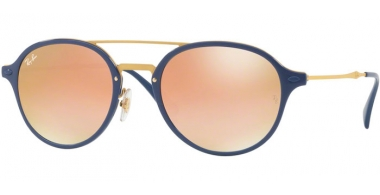 Gafas de Sol - Ray-Ban® - Ray-Ban® RB4287 - 872/B9 BLUE // GREEN GRADIENT BROWN MIRROR PINK