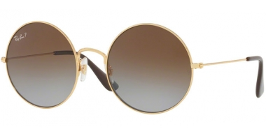 Lunettes de soleil - Ray-Ban® - Ray-Ban® RB3592 JA-JO - 001/T5 GOLD // LIGHT GREY GRADIENT BROWN POLARIZED