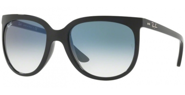 Sunglasses - Ray-Ban® - Ray-Ban® RB4126 CATS  1000 - 601/3F BLACK // CLEAT GRADIENT BLUE