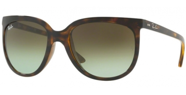 Sunglasses - Ray-Ban® - Ray-Ban® RB4126 CATS  1000 - 710/A6 HAVANA // GREEN GRADIENT BROWN