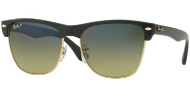 Gafas de Sol - Ray-Ban® - Ray-Ban® RB4175 CLUBMASTER OVERSIZED - 877/76 DEMIGLOSS BLACK // GREEN GRADIENT BLUE POLARIZED