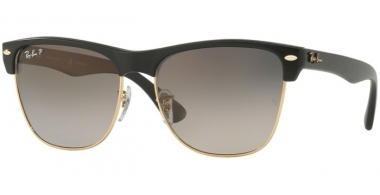 Gafas de Sol - Ray-Ban® - Ray-Ban® RB4175 CLUBMASTER OVERSIZED - 877/M3 DEMI GLOSS BLACK // GREY GRADIENT DARK GREY POLARIZED