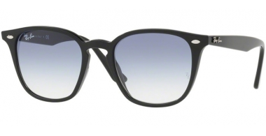 Gafas de Sol - Ray-Ban® - Ray-Ban® RB4258 - 601/19 BLACK // CLEAR GRADIENT LIGHT BLUE
