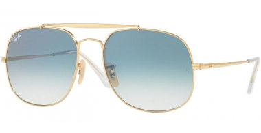 Gafas de Sol - Ray-Ban® - Ray-Ban® RB3561 GENERAL - 001/3F GOLD // BLUE GRADIENT