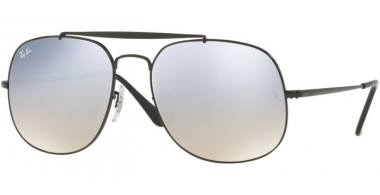Gafas de Sol - Ray-Ban® - Ray-Ban® RB3561 GENERAL - 002/9U BLACK // GRADIENT BROWN MIRROR SILVER