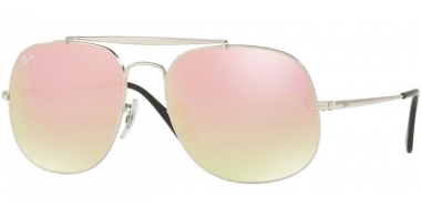 Gafas de Sol - Ray-Ban® - Ray-Ban® RB3561 GENERAL - 003/7O SILVER // GRADIENT BROWN MIRROR PINK