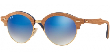 Sunglasses - Ray-Ban® - Ray-Ban® RB4246M - 11807Q GOLD BROWN //GREY GRADEINT BROWN MIRROR BLUE