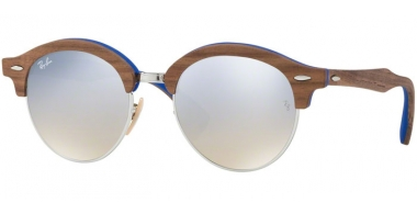 Gafas de Sol - Ray-Ban® - Ray-Ban® RB4246M - 12179U SILVER TURQUOISE // GRADIENT BROWN MIRROR SILVER