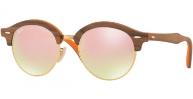 Sunglasses - Ray-Ban® - Ray-Ban® RB4246M - 12187O LIGHT BRONZE ORANGE // GRADIENT BROWN MIRROR PINK