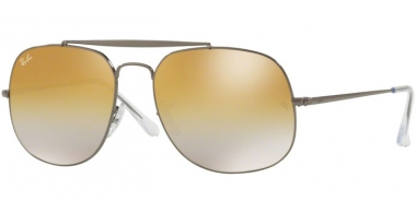 Gafas de Sol - Ray-Ban® - Ray-Ban® RB3561 GENERAL - 004/I3 GUNMETAL // BROWN MIRROR SILVER GRADIENT GREY