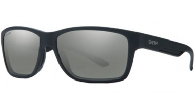 Sunglasses - Smith - WOLCOTT - DL5  (RT)  MATTE BLACK // GREY ChromaPop+