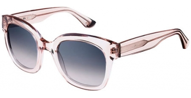 Sunglasses - Special offer - Oxydo - OX 1069/S - I4J (PG) TRANSPARENT ROSE GREY // GREY BLUE GRADIENT