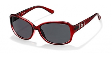 Gafas de Sol - Polaroid - P8418 - IY1 (Y2) CRYSTAL BURGUNDY // GREY POLARIZED