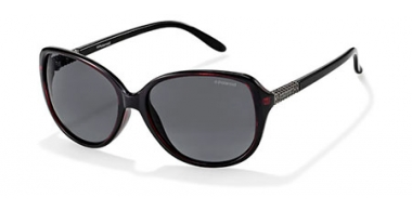 Sunglasses - Polaroid - P8424 - 01N (Y2) BURGUNDY // GREY POLARIZED