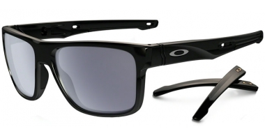 Gafas de Sol - Oakley - CROSSRANGE OO9361 - 9361-01 POLISHED BLACK // GREY