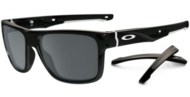Gafas de Sol - Oakley - CROSSRANGE OO9361 - 9361-02 POLISHED BLACK // BLACK IRIDIUM