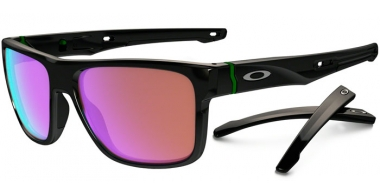 Gafas de Sol - Oakley - CROSSRANGE OO9361 - 9361-04 POLISHED BLACK // PRIZM GOLF