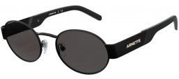 Sunglasses - Arnette - AN3081 LARS - 501/87 MATTE BLACK // GREY